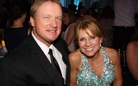 Picture: Cindy Gruden with her husband, Don Gruden