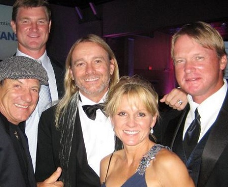 Image: Cindy and Don's Gruden with their three sons