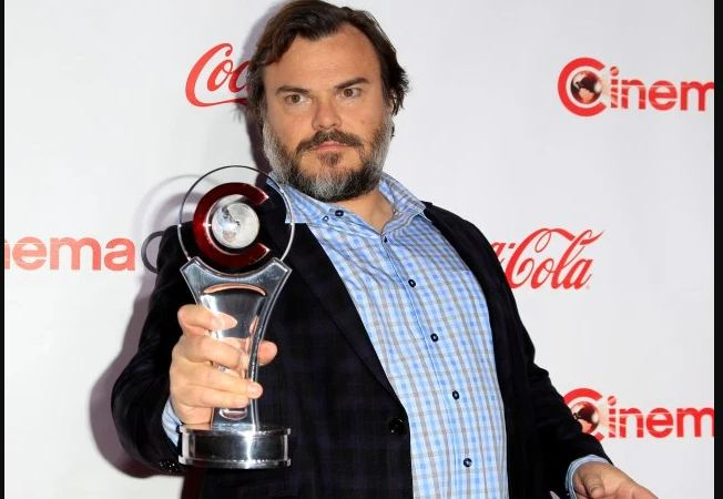 Image: Jack Black golden globe awards