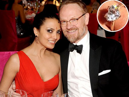 Jared Harris gave a lovely ring to his wife, Allegra Riggio for engagement; Know about their dating history