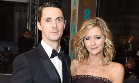 Sophie Dymoke with her husband, Matthew Goode; Know about their married life