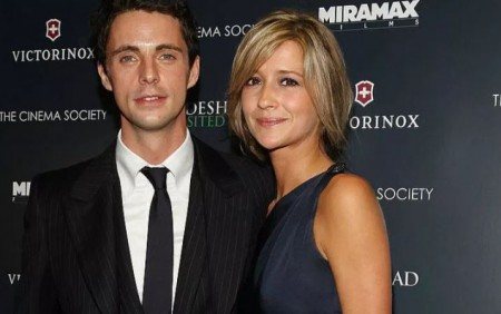 Sophie Dymoke with her husband, Matthew Goode; Know their personal life