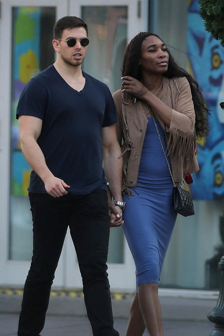 Venus Williams and Nicky Hammond, her former friend