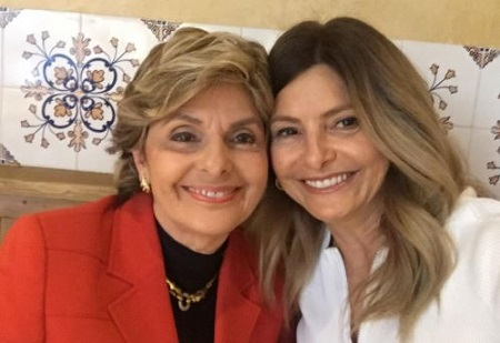 Image: Lisa with her mother, Gloria Allred