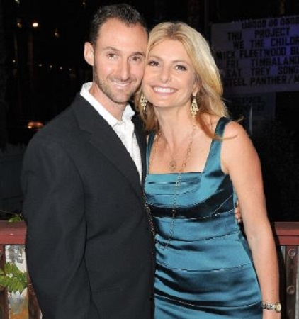 Image: Lisa Bloom with her husband, Braden Pollock