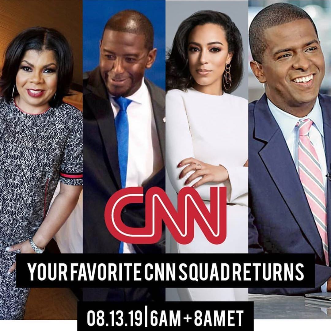 Angela Rye with as CNN political commentator