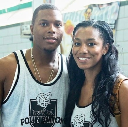 Ayahna Cornish-Lowry and her husband,  Kyle Lowry