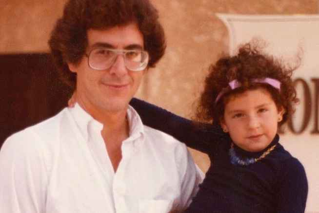 Harold Ramis with his daughter Violet Stiel