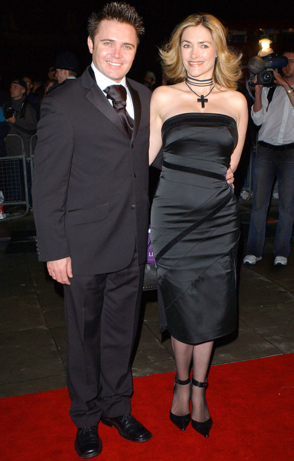 Jennifer Woodburne and her husband, Alex Ferns arrived at an award ceremony.