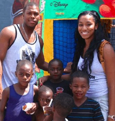 Ayahna Cornish-Lowry and Kyle Lowry on their foundation