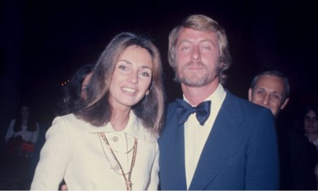 Jennifer O'Neill with her second ex-husband, Joseph Koster on their wedding day