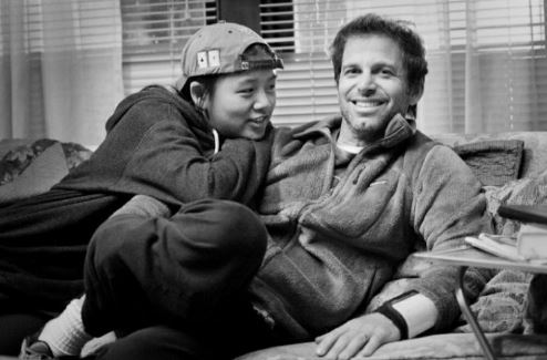 Zack Snyder and Autumn Snyder spending quality time