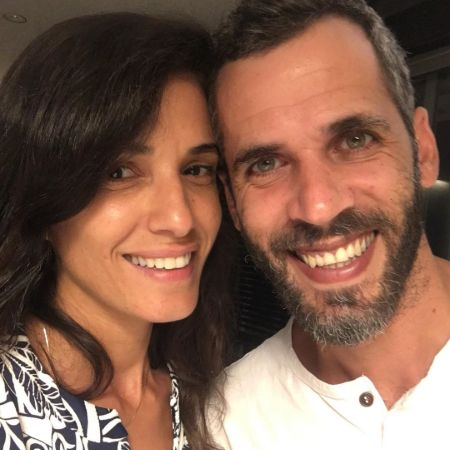 Hadar and her spouse, Yair Rotem taking selfie