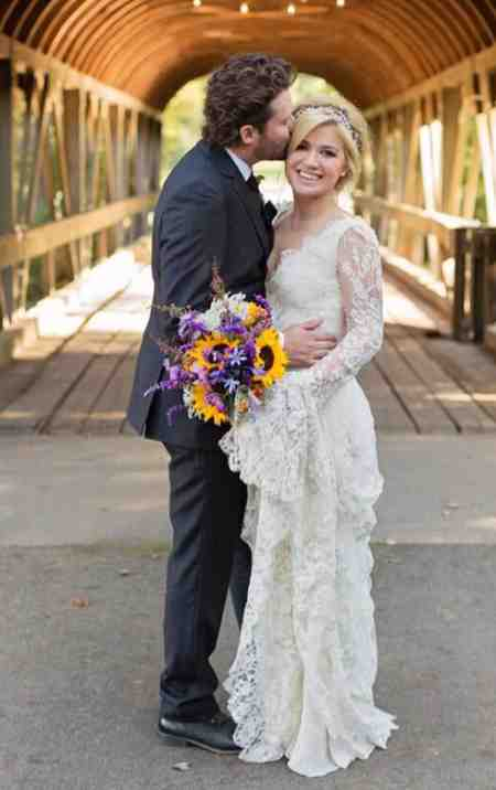 River Rose Blackstock's parents, Kelly Clarkson and Brandon Blackstock tied the knot in a blissful ceremony