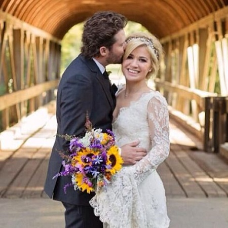 Brandon Blackstock and Kelly Clarkson weds on October 20, 2013