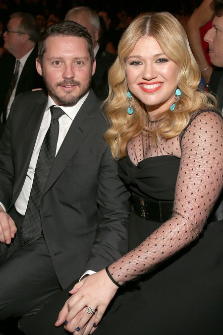 Image: Brandon Blackstock and Kelly Clarkson got engaged in 2012