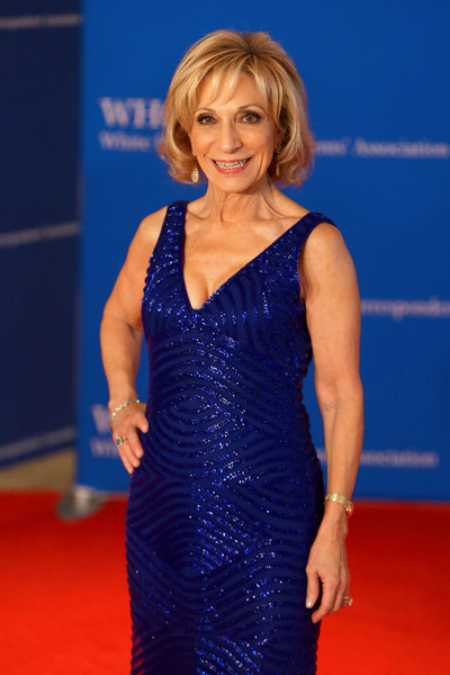 Gil Jackson's ex-wife, Andrea Mitchell at the 2018 White House Correspondents' Dinner