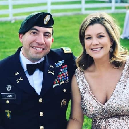 Brianna Keilar's second husband purpose her under Washington's stars and fireworks