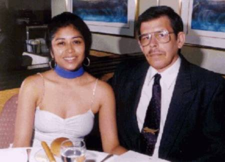 Art Bell with his third ex-wife, Ramona Lee Hayes