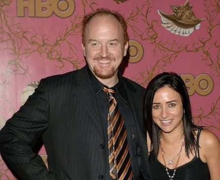 Comedian, Louis C.K. dated his co-star, Pamela Adlon