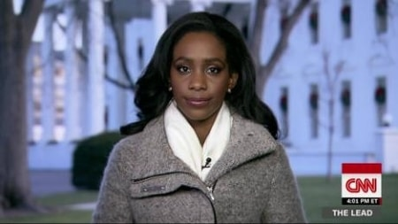 Abby on Cnn reporting on the news relating to White House as a correspondent