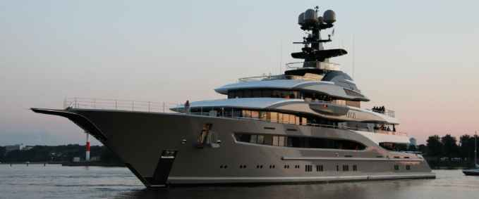 Shahid Khan bought a $200 million private yachts