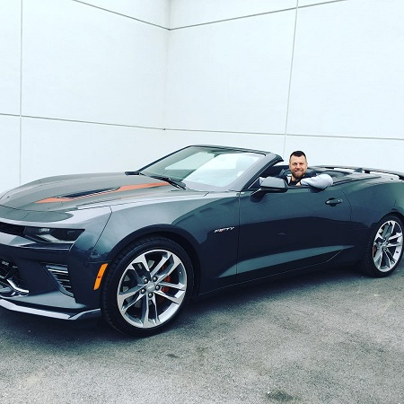 Ben Zobrist's Chevrolet Convertible which has a market value of around MSRP $33,500. Know more about Ben's net worth, welath, bank balance, earnings, insurance, bonds, investment and other source of income.