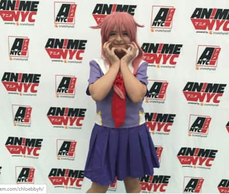 Milli in Cosplay for the Anime in New York City