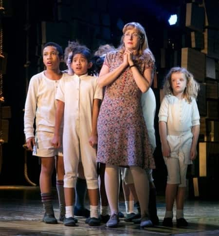 Milly in Matilda the Musical