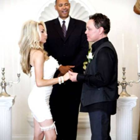 Courtney Stodden and Doug Hutchison married in a small and private ceremony
