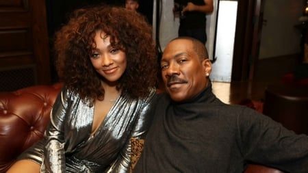 Bria with her father Eddie Murphy