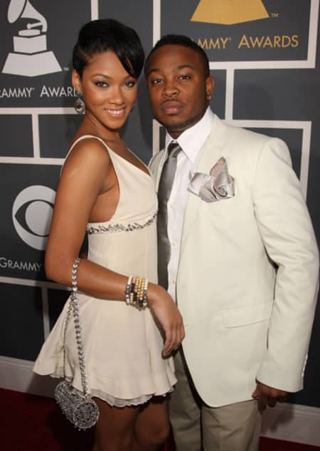 Bria with her former boyfriend Pleasure P