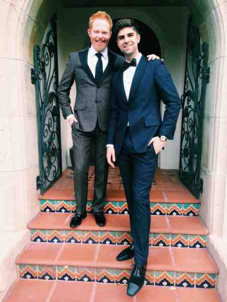 Jesse Tyler Ferguson with his spouse, Justin Mikita. Want to know more about their married life?
