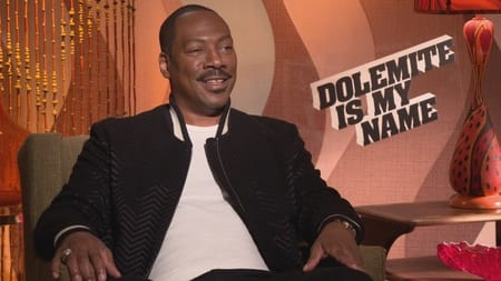 Eddie Murphy interview in an interview