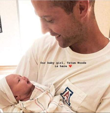Kevin Simshauser and Taylor Cole welcomed their baby girl, Tatum Woods. Know more about the birth details of their daughter.
