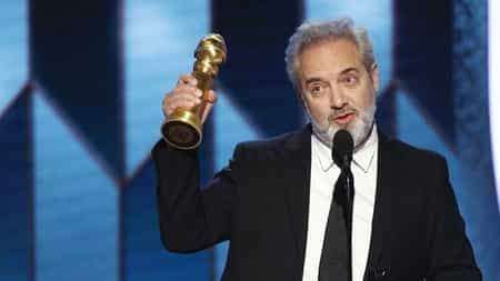 Sam Mendes wins 77th Golden Globe Awards for the best Director for the film 1917.