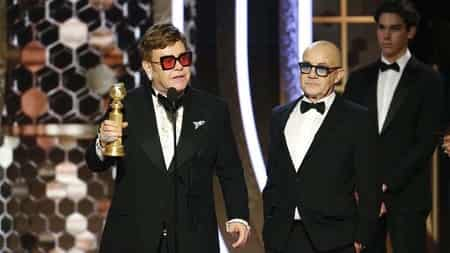 Elton John an Bernie Taupin won the award for best original song in a motion picture