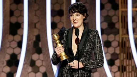 The Fleabag actress, Phoebe Waller-Bridge won the title of best performance by an actress in a television series (Musical or comedy))