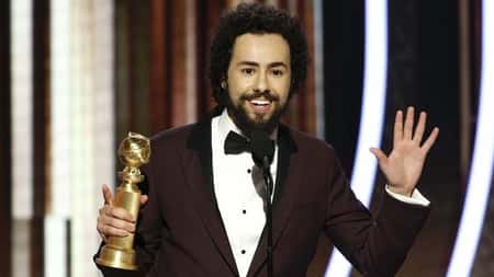Ramy Youssef took home his first award titled best performance by an actor in a television series for the series Ramy