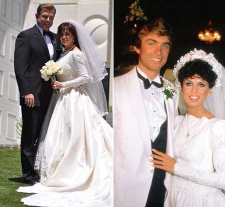 Marie Osmond and her first husband, Stephen Craig tied the knot for the second time