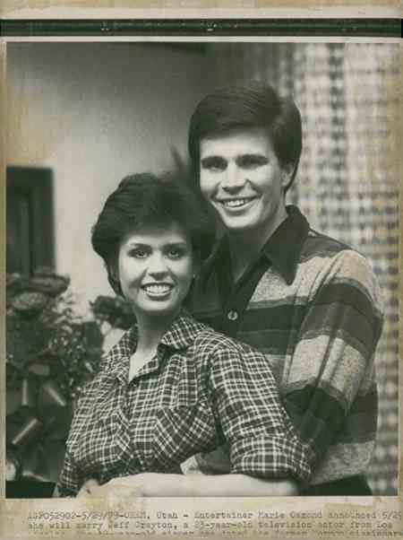 Marie Osmond and her ex-fiance, Jeff Crayton