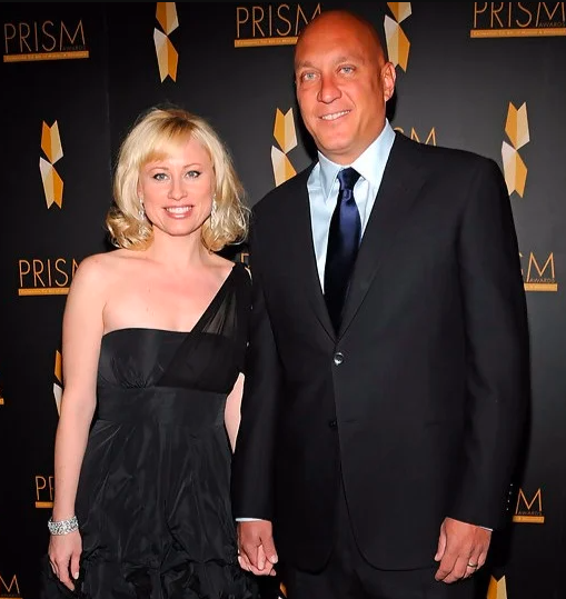 Rosae's ex-husband Steve with his third wife Rachelle Consiglio.