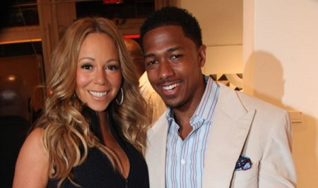 The host Nick Cannon was married to the singer Mariah Carey from 2008 to 2016.