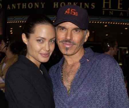 The actor Billy Bob Thornton was married to an actress Angelina Jolie from 2000 to 2002.