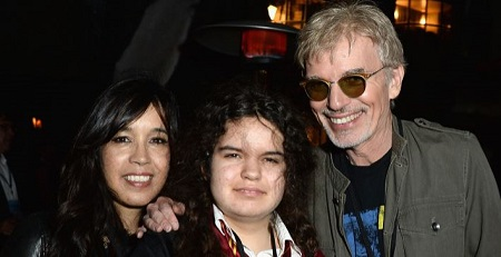 Bella Thornton with her father Billy Bob Thornton and mother Connie Angland (le