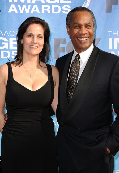 Nora Chavooshian with her ex-husband Joe Morton, attending an award show.