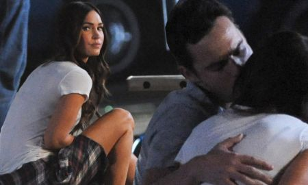 Erin Payne's husband, Jake Johnson kissed his New Girl co-actress, Megan Fox during a shoot. What happened next in between the married couple, Erin and Jake?
