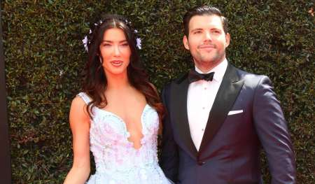 Elan Ruspoli and Jacqueline McInnes Wood on the red carpet of 2019 Emmys. Where and when the pair got united as husband and wife?