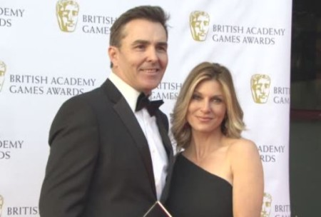 Jill Murray with her husband, Nolan North.