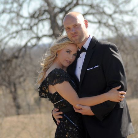 Dustin's Girlfriend, Rachel and her late husband, Rob Bironas
